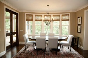 traditional-dining-room-windows