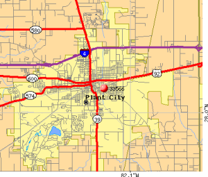 Plant-City-fl-map