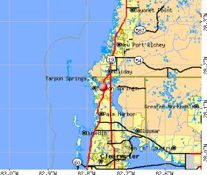 Tarpon-Springs-fl-map