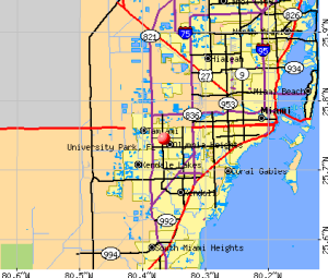 University-park-fl-map
