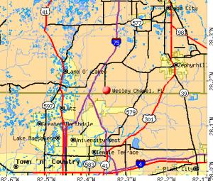 Wesley-Chapel-fl-map